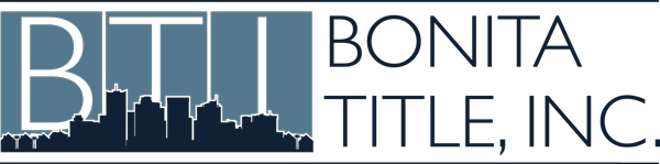 Bonita Title, Inc. | Bonita Springs, FL Title Company Logo