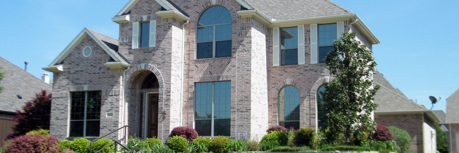 Large upscale brick home