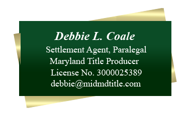Debbie L Coale Info card
