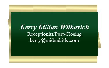 Kerry Killian Info card