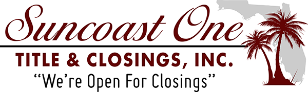 Suncoast One Title & Closings | Punta Gorda, Florida Title Company Logo